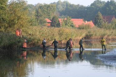 Abfischen in Rietschen