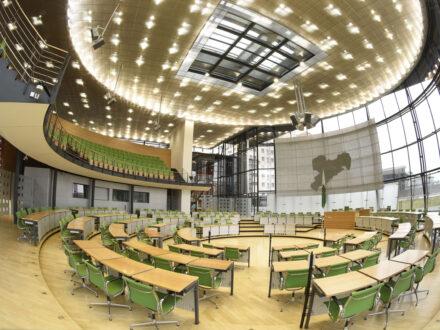Plenarsaal Sächsischer Landtag