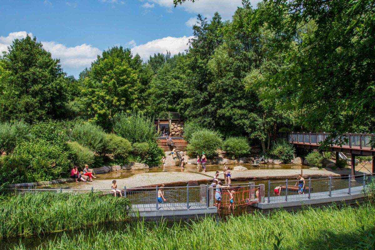 Wasserspielplatz Lübben ©Peter Becker