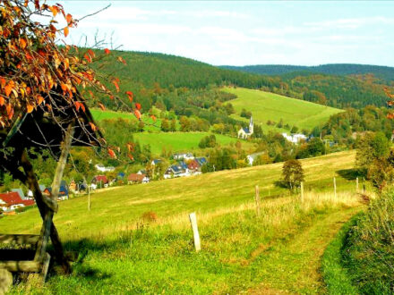 Rechenberg Bienenmühle im Herbst