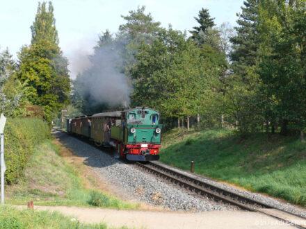 Lößnitzgrundbahn in Moritzburg