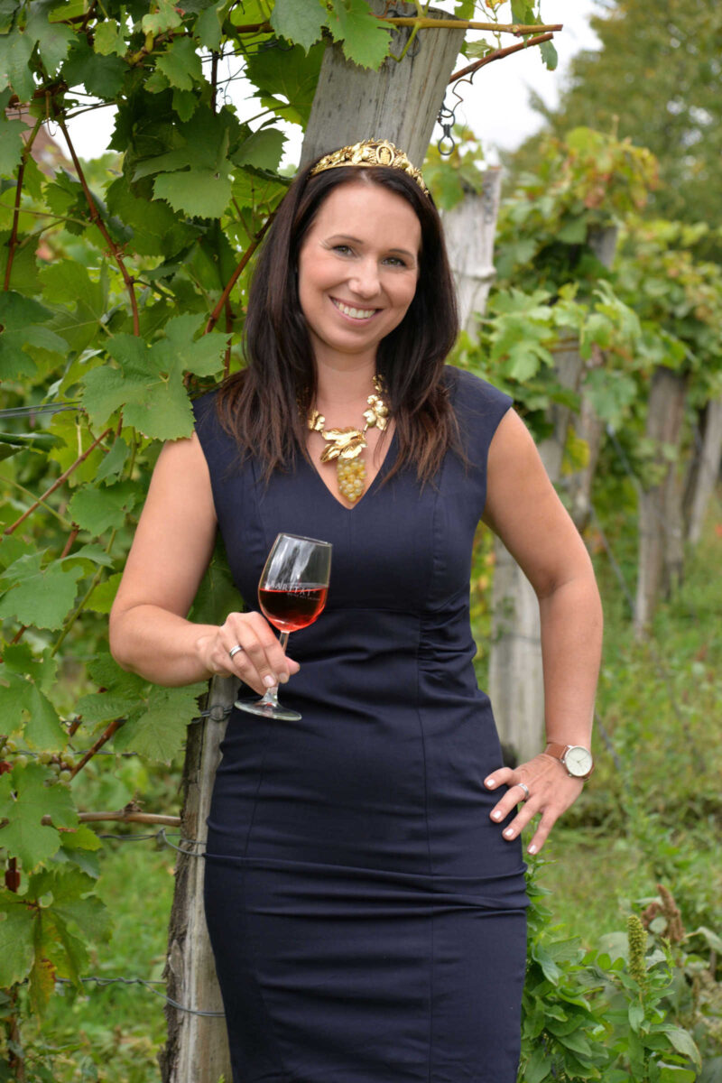 Weinkönigin Katja Böhme