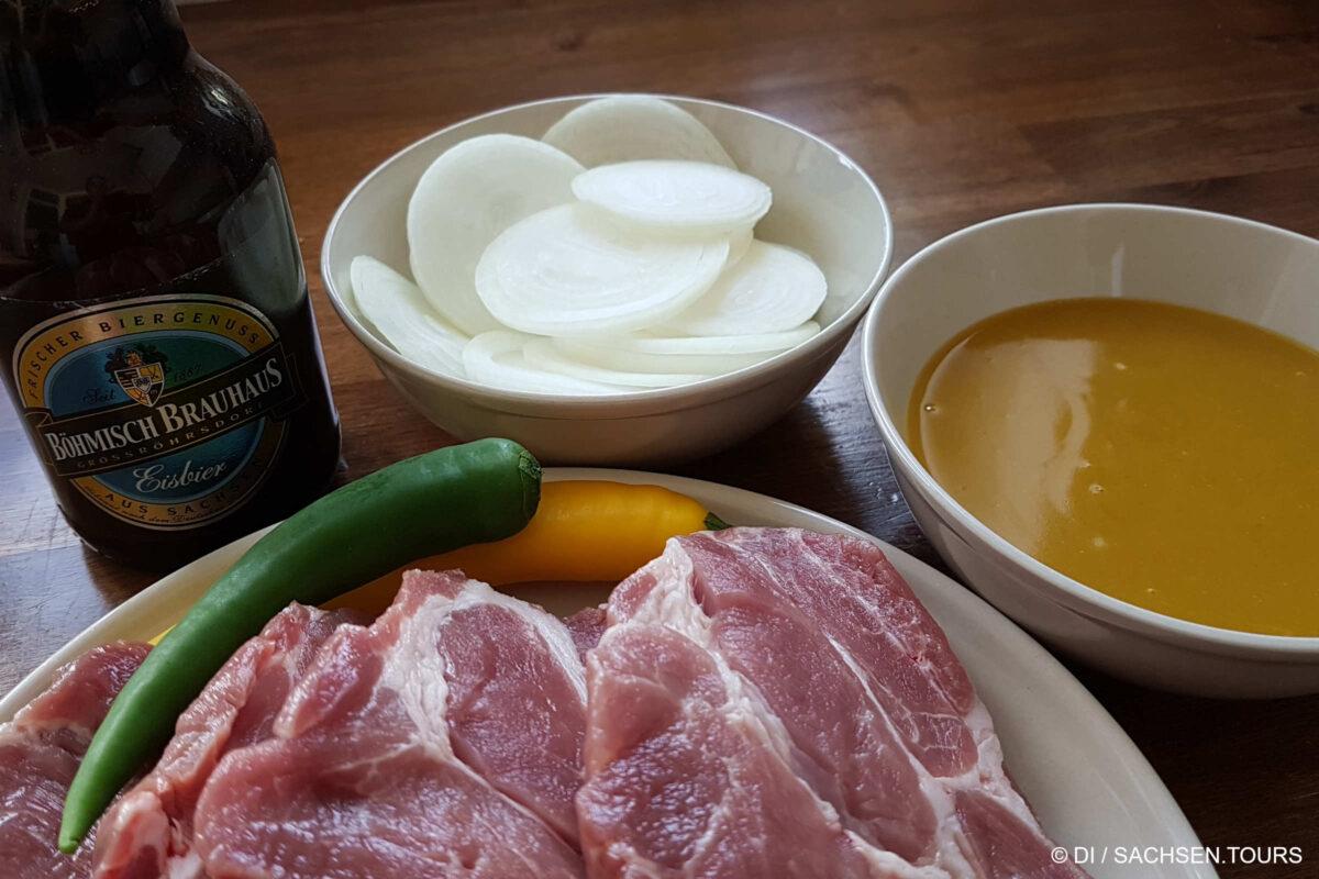 Grillfleisch-Marinade Zutaten