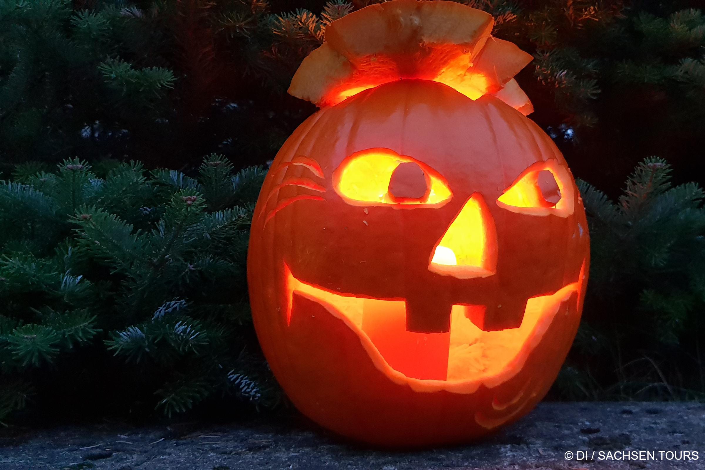 Halloween-Kürbis