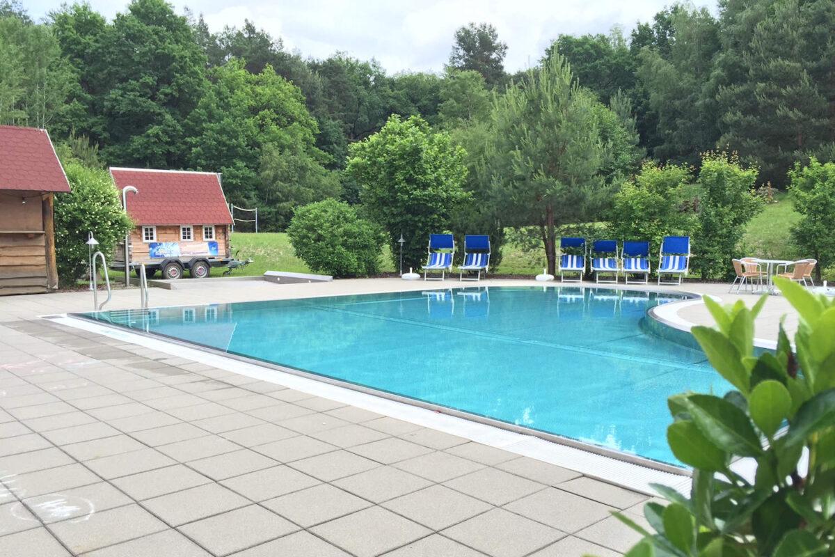 Erlebniswelt Krauschwitz Außen Pool