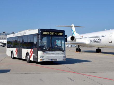 Flughafen Dresden Vorfeld