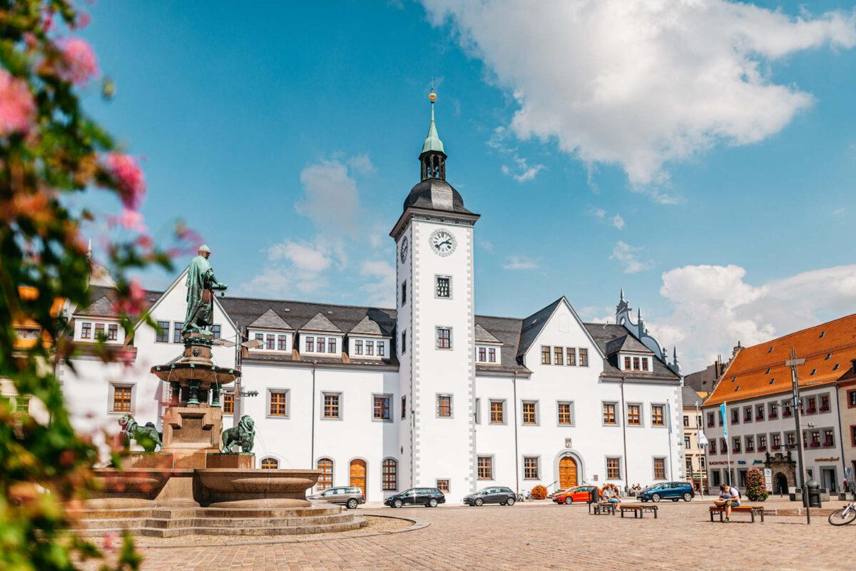 Obermarkt in Freiberg