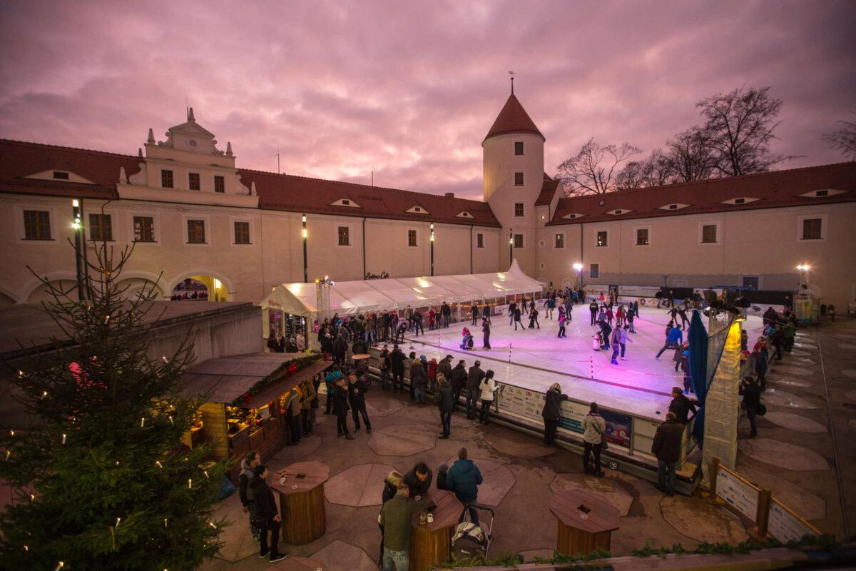 Schloss Freudenstein Eisbahn