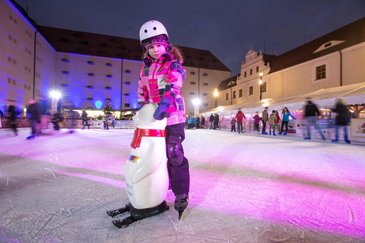 Schloss Freudenstein Eislaufen