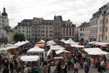 Töpfermarkt in Plauen
