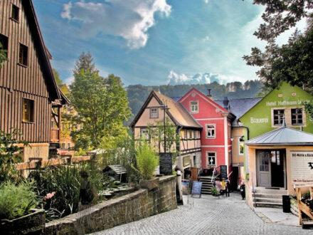 Historische Mühle und Bäckerei in Schmilka