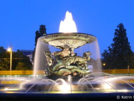 Brunnen am Albertplatz