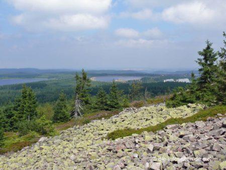 Blick zu den Galgenteichen Altenberg