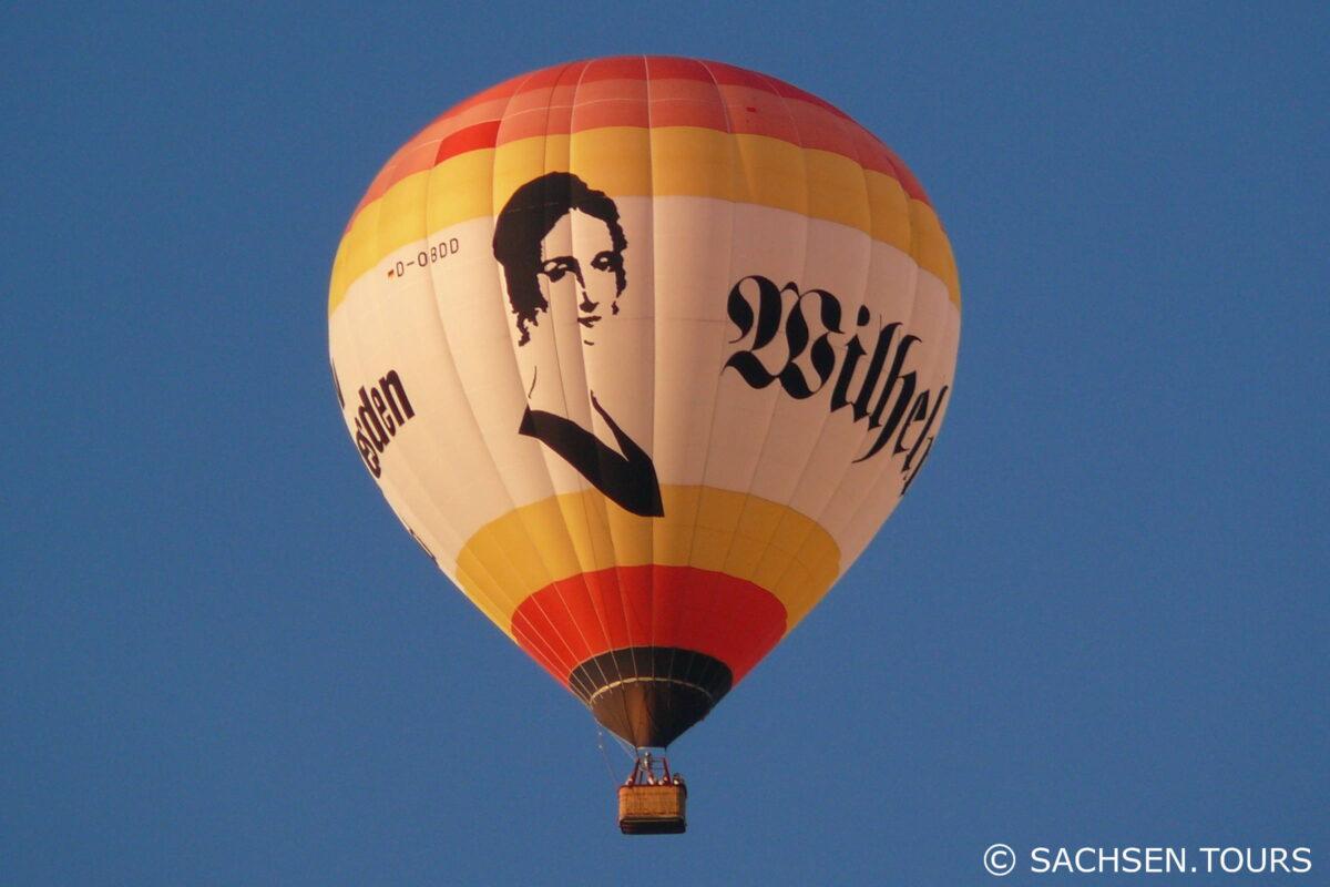 Heissluftballon Wilhelmine Reichard