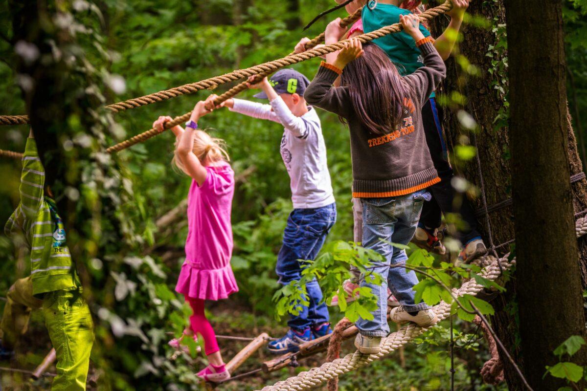 Kletterspass für kleine Abenteurer