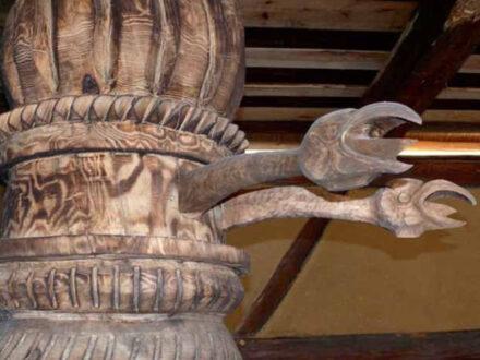 Krabatmühle Schnitzereien