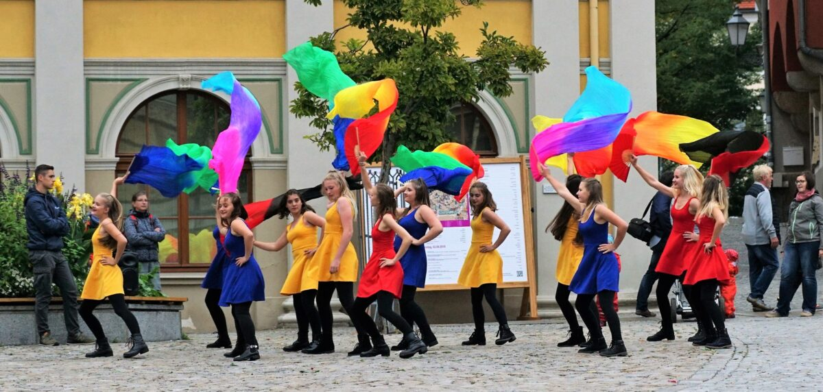 Mädchentanzgruppe Altstadtfestival Bautzen