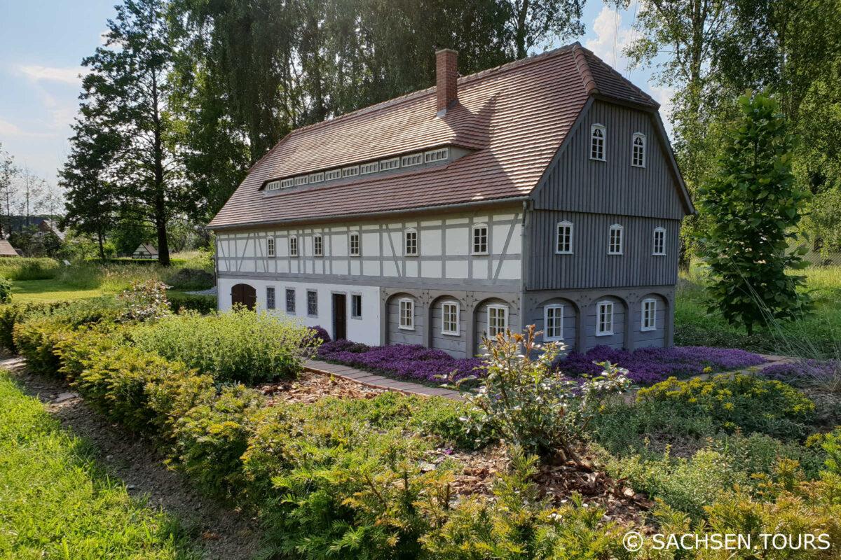 Miniatur Umgebindehaus