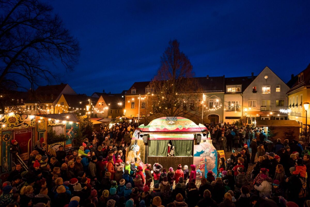 Puppenschaubude Weihnachtsmarkt © André Wirsig