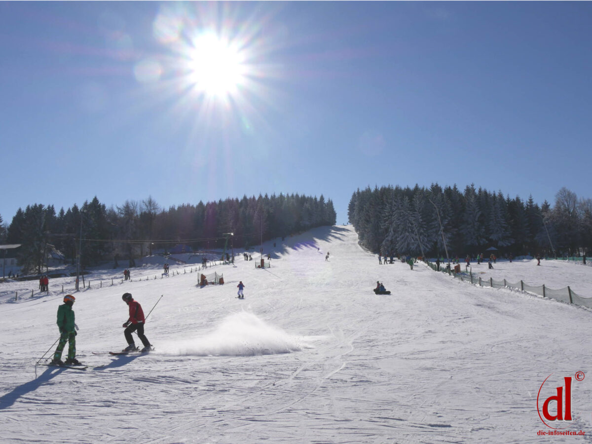 Skihang in Altenberg