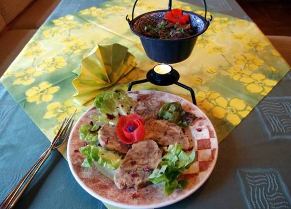 leckere Speisen im Gasthof Bärenfels