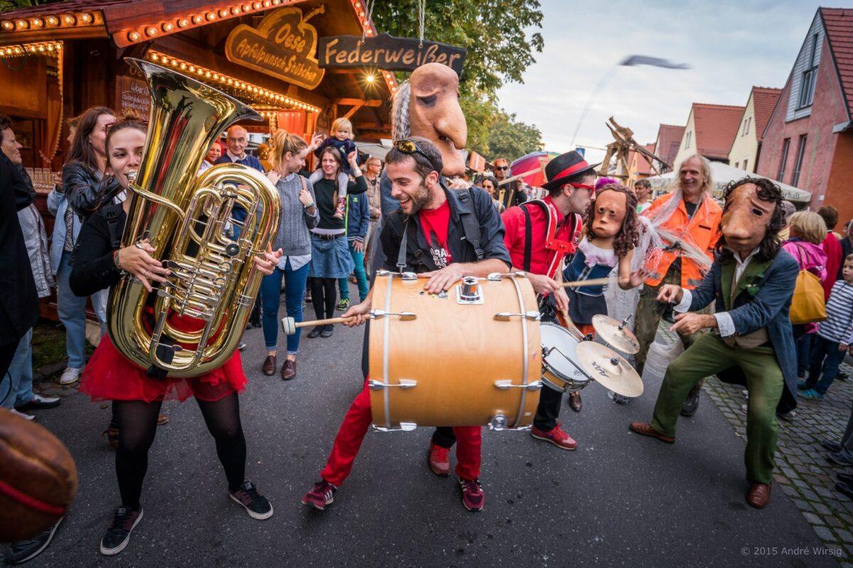 Strassenmusiker zur Eröffnungsparade © André Wirsig