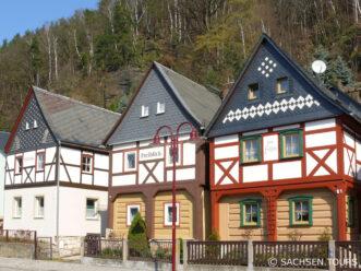 Umgebindehäuser Bad Schandau