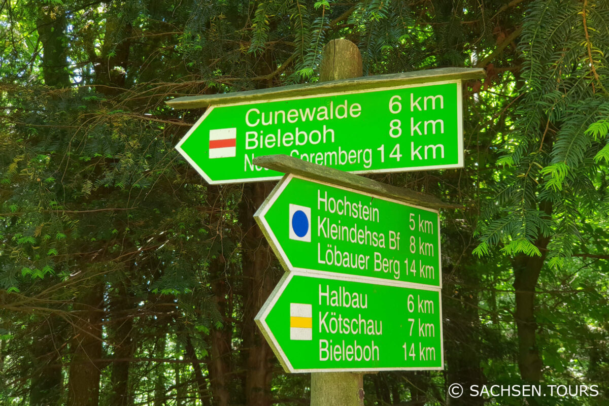 Wanderwege am Czorneboh