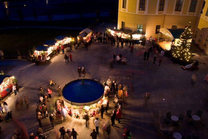 Weihnachtsmarkt am Schloss Moritzburg