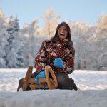 Winterspaß in Bärenfels - Rodel frei
