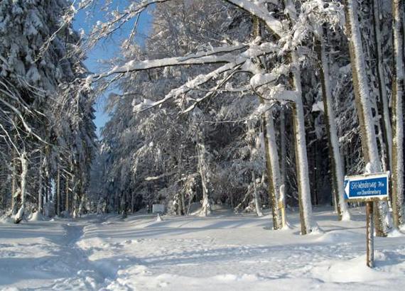 Winterzauber Erzgebirge